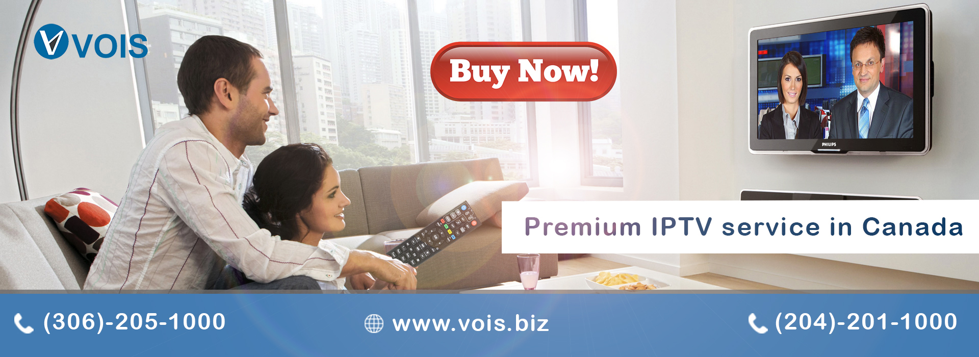 Premium IPTV service in Canada